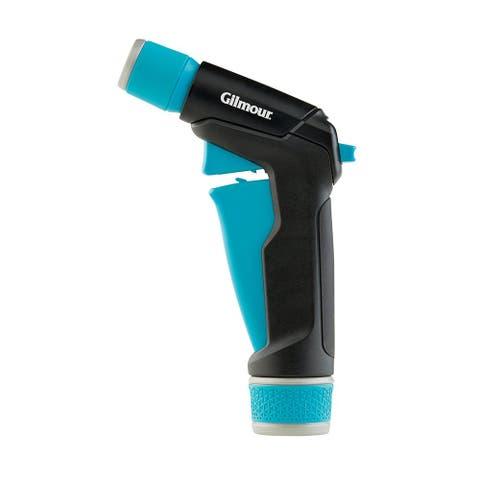 """Gilmour 839112-1001 Front Trigger Adjustable Hose Nozzle, Blue/Black - 1/2"""""""