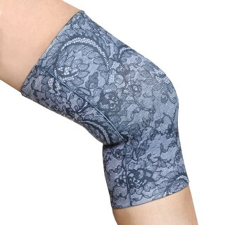 Celeste Stein Knee Compression Sleeve Support for Running Jogging Joint Pain Relief Arthritis Injury Recovery