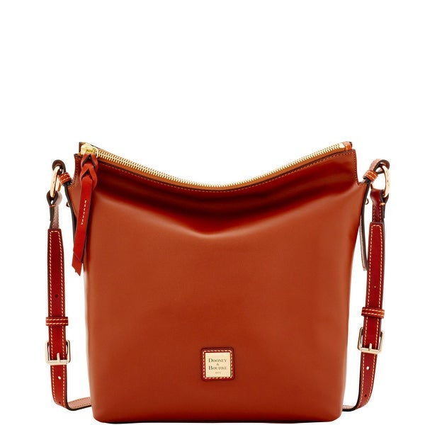 Dooney & Bourke Wexford Leather Small Dixon Crossbody (Introduced by Dooney & Bourke at $248 in Jun 2017) - Natural
