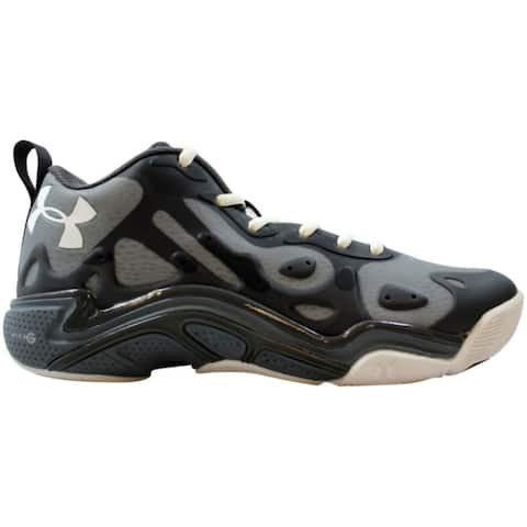 Under Armour Micro G Spawn Low 2 Black/Charcoal 1252477-003 Men's Size 5
