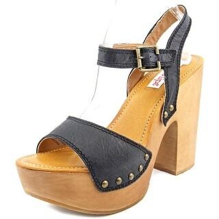 Two Lips Scarlett Women Open Toe Leather Sandals