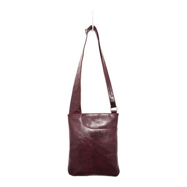 393efac2ef ... Shoulder Bags. Latico Women  x27 s Athena Cross Body 7803 Pebble  Burgundy Leather - US Women