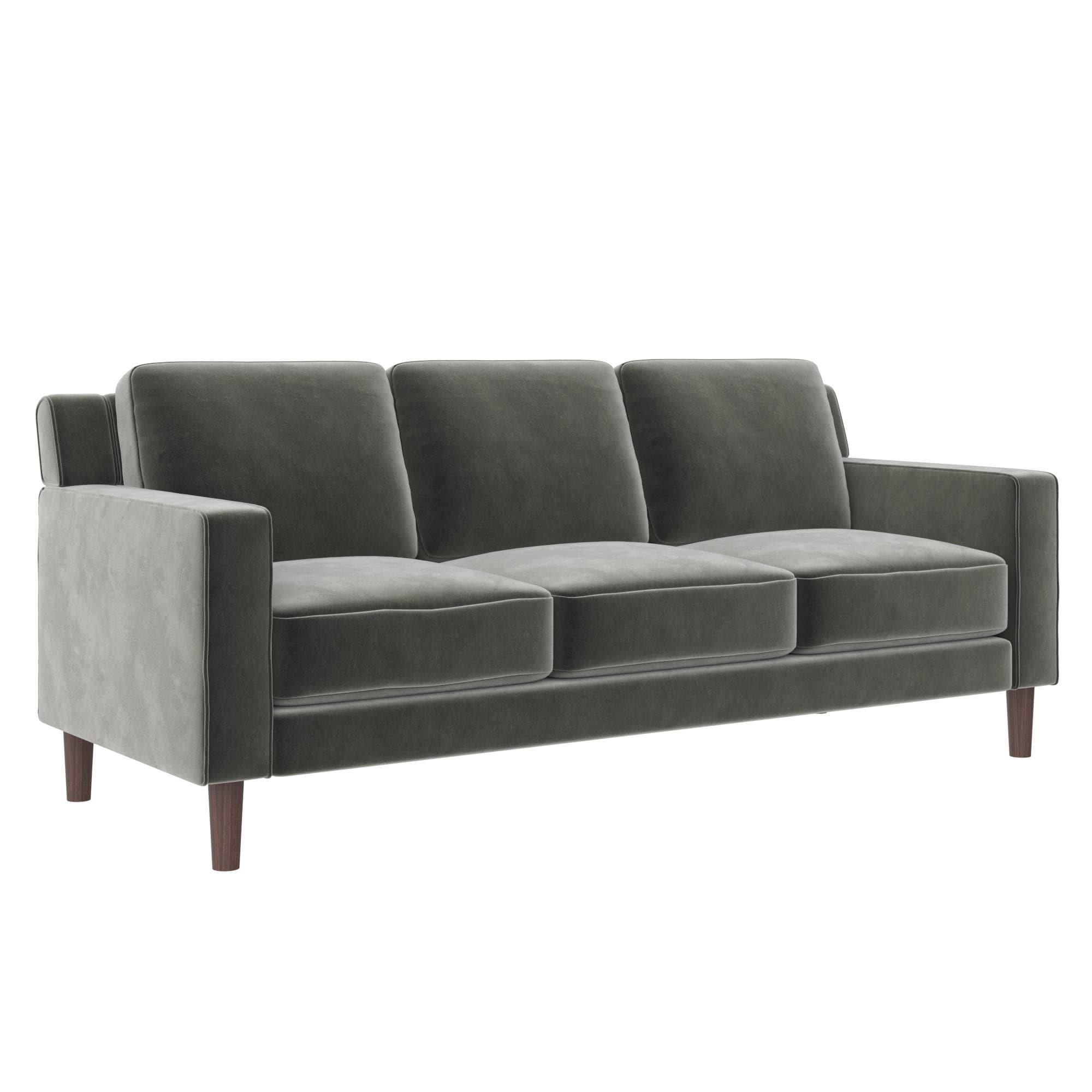 Avenue Greene Braylee Velvet 3-seat Sofa -  DO17365