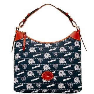 Dooney & Bourke NFL Oakland Raiders Large Erica Shoulder Bag (Introduced by Dooney & Bourke at $168 in Aug 2017)
