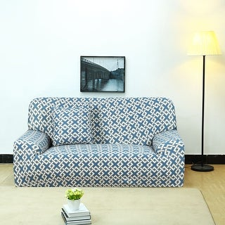 Unique Bargains Polyester Stretch Slipcover (92 x 118 Inch) - #8