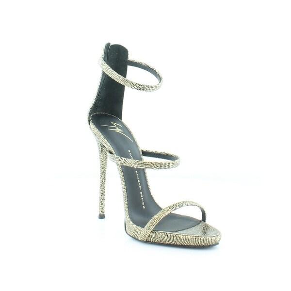 Giuseppe Zanotti Coline Women's Heels Blk/Gold - 8
