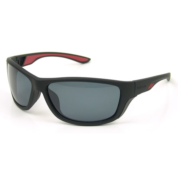 05388ff974 Shop Body Glove Vapor 1802 Polarized Sunglasses - Black Red Smoke - ONE SIZE  - On Sale - Free Shipping On Orders Over  45 - Overstock.com - 23566868