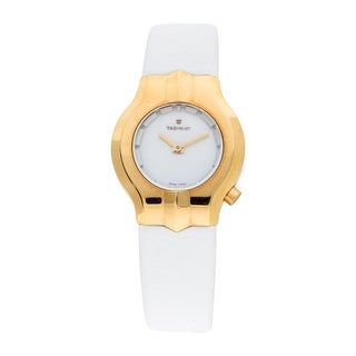 Link to Tag Heuer Women's WP1440.FC8149 'Alter Ego' White Leather Watch Similar Items in Women's Watches