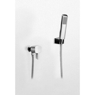 Toto TS960F1L Single Handle Deck Mounted Diverter and Personal Hand Shower System with Valve from the Soiree Series