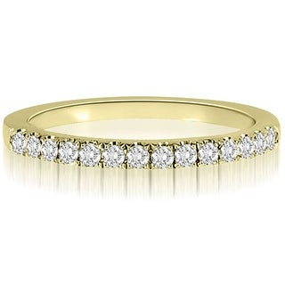 0.25 CT.TW Round Cut diamond Wedding Ring (More options available)