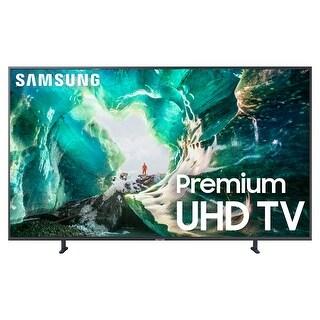 "Samsung UN49RU8000 49"" 4K UHD Smart TV with Bixby Intelligent Voice Assistant - Grey"