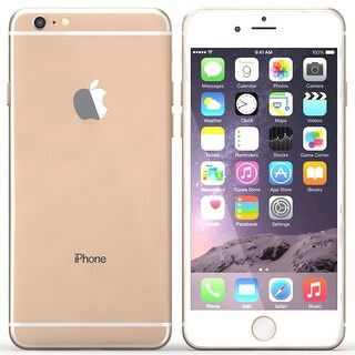 Apple iPhone 6s Plus Cell Phone - AT&T Locked (Certified Refurbished)