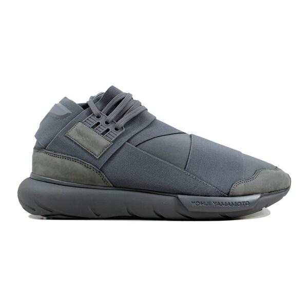 1d0665299b161 Shop Adidas Men s Y-3 Qasa High Vista Grey BB4734 - Free Shipping ...