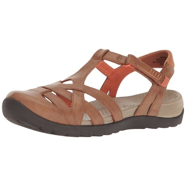 Bare Traps Womens Fayda Closed Toe Walking Strappy Sandals
