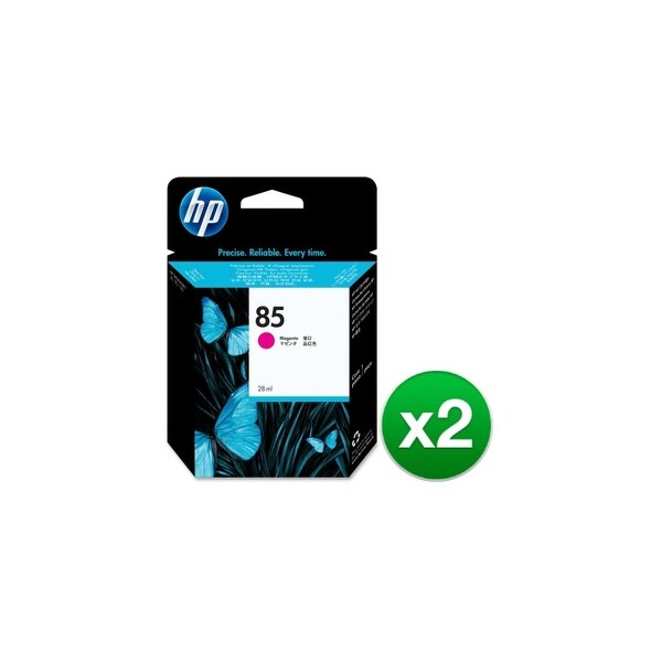 HP 85 28-ml Magenta DesignJet Ink Cartridge (C9426A) (2-Pack)