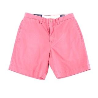 Polo Ralph Lauren Pink Mens Size 34 Khaki Chino Classic Fit Shorts