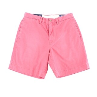 Polo Ralph Lauren Red Mens Size 30 Classic Fit Stretch Shorts
