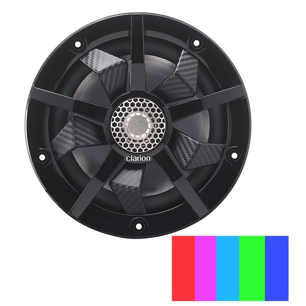 "Clarion 6.5"" 2-Way Marine Speakers"