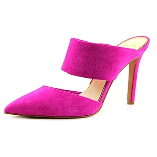 Jessica Simpson Chandra Pointed Toe Suede Mules