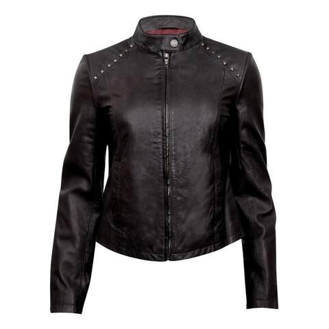 Durango Western Jacket Women Leather Company Belle Starr Black
