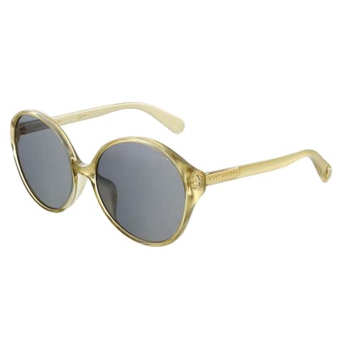 Marc Jacobs MARC366FS 0J5G Gold Round Sunglasses - 59-18-145
