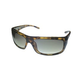 Perry Ellis Mens Sunglass PE15 2 Demi Crystal Plastic Wrap, Brown Gradient Lens