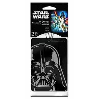 Star Wars Darth Vader Car Air Freshener 2-Pack (Vanilla Scent)