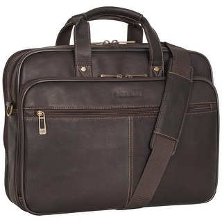 Link to Heritage Travelware 16-inch Laptop & Tablet Full-Grain Colombian Leather Portfolio Dual Compartment Business Briefcase Similar Items in Briefcases