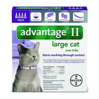 Advantage II Flea Treatment for Cats Over 9lbs.
