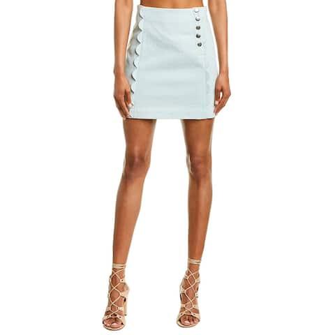 Bcbgeneration Scalloped Mini Skirt