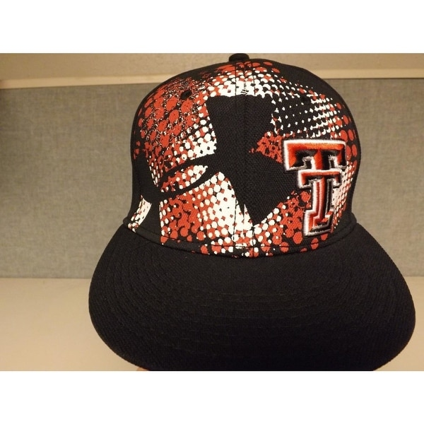 huge selection of 9a618 4627b ... adjustable hat cap visor 4a95e 2f1ed  best price texas tech red raiders mens  under armour size osfa snapback hat 1ab8b 56bd0