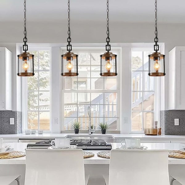 The Gray Barn Horse Hollow 1-light Rustic Pendant Lighting Fixture. Opens flyout.
