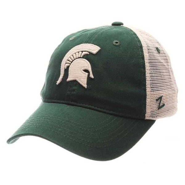 online store 10762 cc14b Shop Zephyr Hats NCAA Michigan State University Spartan Trucker Snapback Baseball  Cap - Free Shipping On Orders Over  45 - Overstock - 19402153