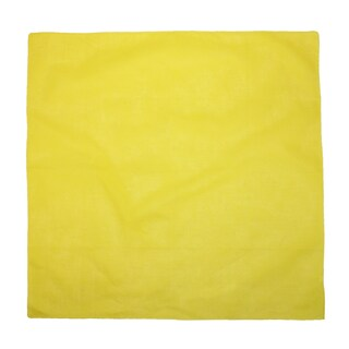 CTM® Individually Folded and Packaged Solid Color Cotton Bandana - One size