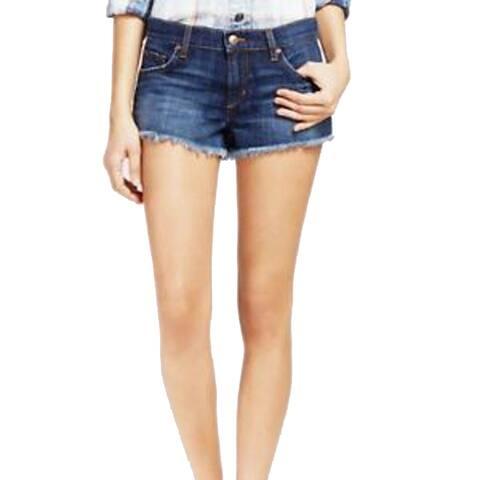 Joe's Womens Jeans Andreea Cut Off Short, Medium Wash, 25