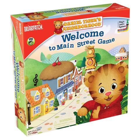 (2 Ea) Welcome To Main Street Game Daniel Tigers Neighborhood