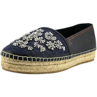 Christian Dior Riviera Round Toe Synthetic Espadrille