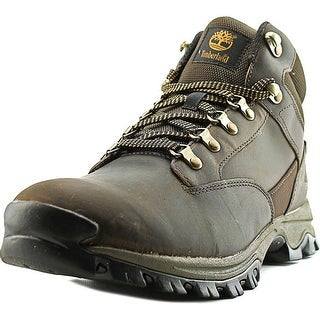Timberland Keele Ridge Men Round Toe Leather Brown Hiking Boot