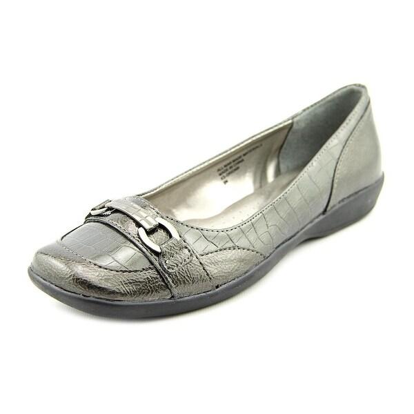 Karen Scott Orionn Women Apron Toe Synthetic Bronze Loafer