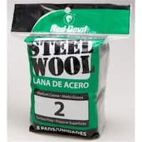 Red Devil 8 Pack NO.2 Steel Wool  0325