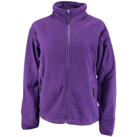 River's End Womens Microfleece Jacket Athletic Outerwear Jacket