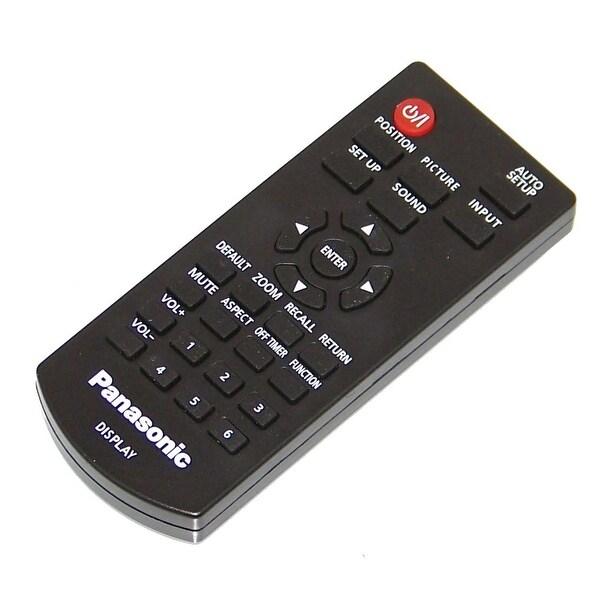 OEM Panasonic Remote Control Originally Shipped With: TH65LFE8, TH-65LFE8, TH49LF8, TH-49LF8