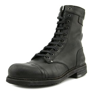 Diesel Cassidy Round Toe Leather Boot
