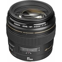 Canon EF 85mm f/1.8 USM Lens (International Model)