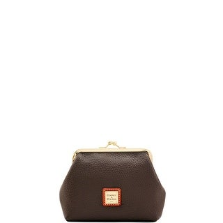 Dooney & Bourke Pebble Grain Large Framed Purse (Introduced by Dooney & Bourke at $58 in Jul 2017) - Chocolate