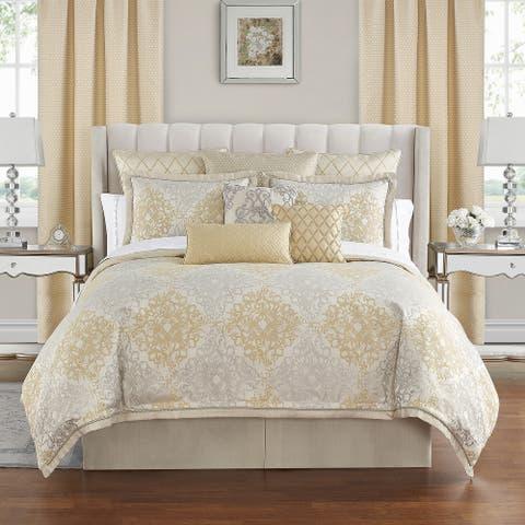 Waterford Wynne Gold Comforter Set