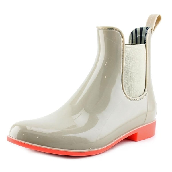 NoSox Myst Women  Round Toe Synthetic Nude Rain Boot