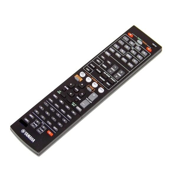 OEM Yamaha Remote Control Originally Shipped With: HTR4065, HTR-4065, YHT797BL, YHT-797BL, RXV473BL, RX-V473BL