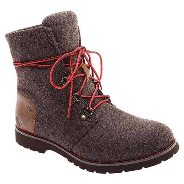 c268b3481bab5d The North Face Women  x27 s Ballard Lace II Heathered Chukka Boot Chocolate  Torte