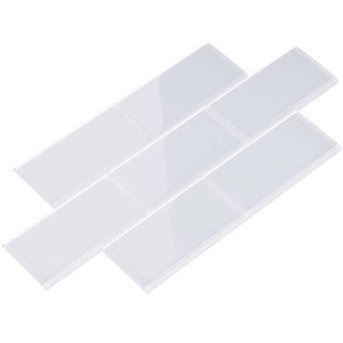 Cool White Subway Tiles (5.5 Square Feet) (44 Pieces per Unit)